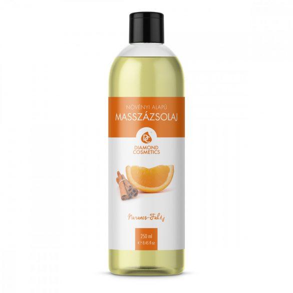 Narancs-Fahéj Illatú Masszázsolaj 250 ml