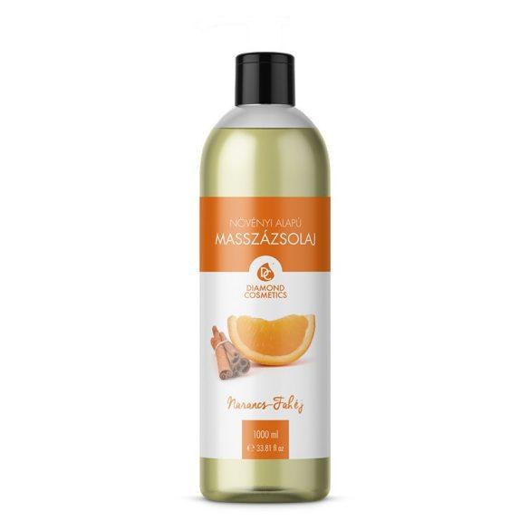 Narancs-fahéj Masszázsolaj 1 liter