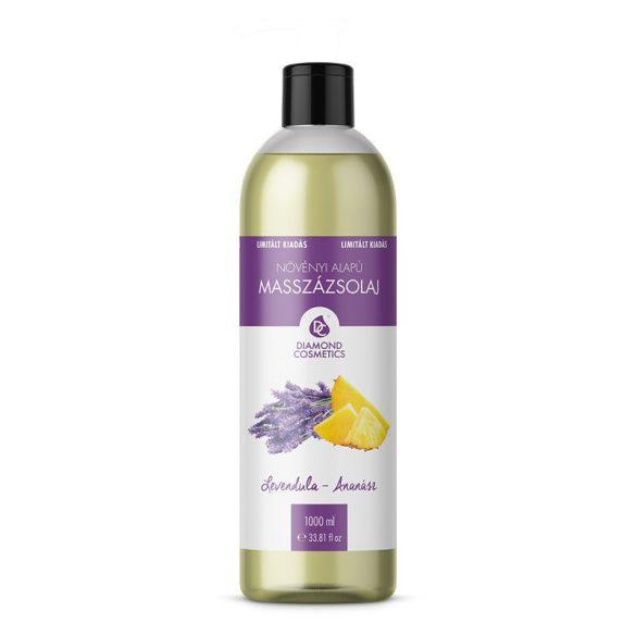 Levendula-Ananász illatú Masszázsolaj 1 liter